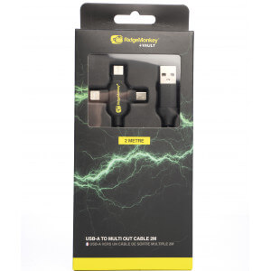 Obrázok 4 k Napájací kábel RidgeMonkey USB A to Multi out 2m