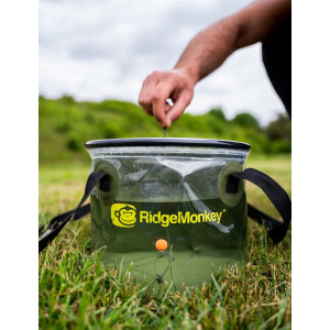 Skladacie vedro RidgeMonkey Perspective Collapsible Bucket 10l