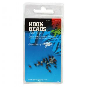 Oválne zarážky GIANTS FISHING Hook Beads Oval