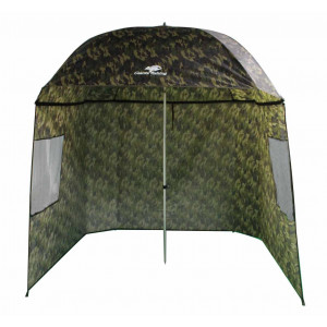 Dáždnik GIANTS FISHING Square Camo Umbrella 2,50m