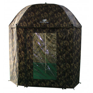 Dáždnik GIANTS FISHING Full Cover Square Camo Umbrella 2,50m