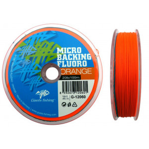 Šnúra GIANTS FISHING Micro Backing Fluoro Orange