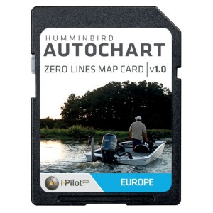 SD karta HUMMINBIRD Autochart Zero Line Card