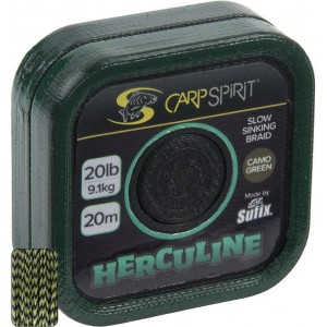 Šnúra CARP SPIRIT Ballistic Braided Leader Camo Green