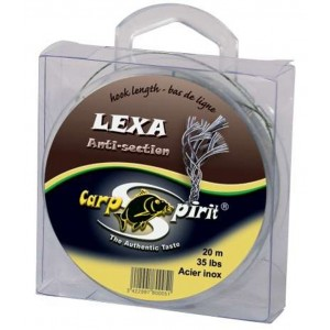 Šnúra CARP SPIRIT Lexa Anti Section Brown