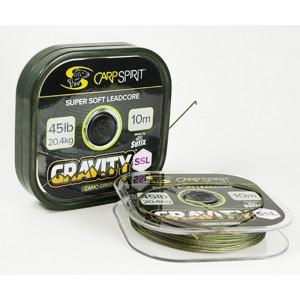 Šnúra CARP SPIRIT Gravity SSL Camo Green