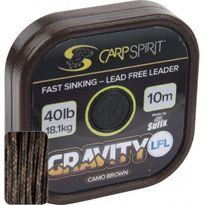 Šnúra CARP SPIRIT Gravity SSL Camo Brown