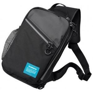 Taška SHIMANO Sling Shoulder Bag, čierna