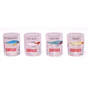 Štamperlíky RAPALA Shot Glass