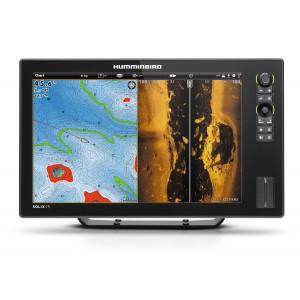 Sonar HUMMINBIRD SOLIX 15 CHIRP Mega SI GPS + karta SD Autochart Zerolines