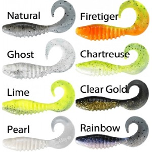 Twister BERKLEY Flex Grub Shad 7,5cm