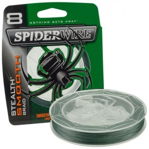 Šnúra SPIDERWIRE Stealth Smooth 8 Moss Green