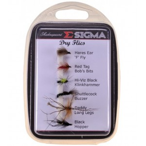 Sada mušiek SHAKESPEARE Sigma Fly Selection Stillwater Dries