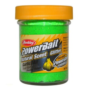 Pstruhové cesto BERKLEY PowerBait Natural cesnak