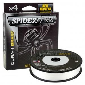 Pletená šnúra SPIDERWIRE Dura 4 Translucent