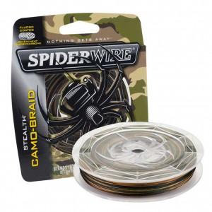 Šnúra SPIDERWIRE Stealth Smooth 8 Camo