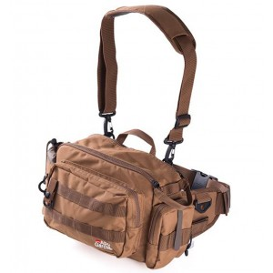 Taška ABU GARCIA Hip Bag Large 2 Coyote Brown