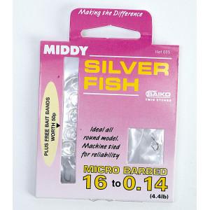 MIDDY kompletný naviazaný systém Silver Fish