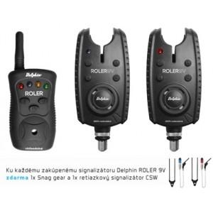Obrázok 3 k Set  DELPHIN Roler 9V + swingre + Snag gears