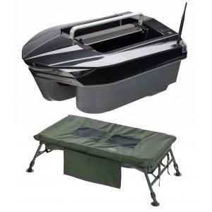 SET = zavážacia loďka MIVARDI Carp Scout XL + vanička New Dynasty