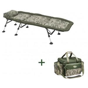 SET = lehátko MIVARDI Stealth Flat6 + taška Stealth