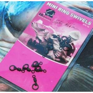 Obratlík LK Baits Mini Ring Swivels s krúžkom