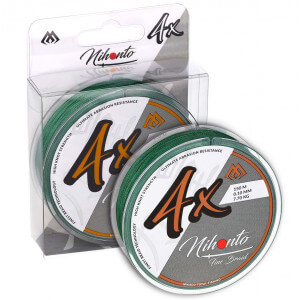 Šnúra MIKADO Nihonto Fire Braid Green
