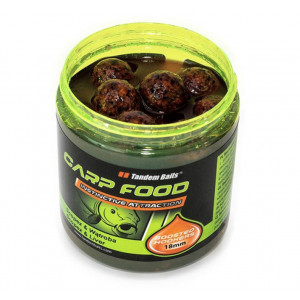 Boilie v dipe Tandem Baits Carp Food Boosted hookers