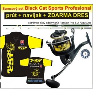 SET = prút Black Cat + navijak + dress