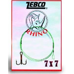 Cceľové lanko s trojháčikom ZEBCO