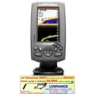 Sonar LOWRANCE Hook-4x Chirp/ DSI