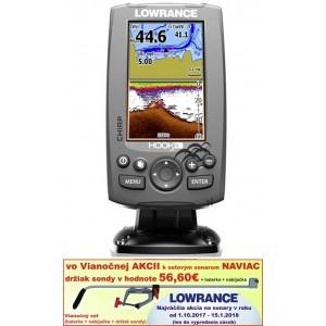 Sonar LOWRANCE Hook-4 Chirp/ DSI / GPS