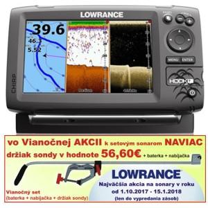 Sonar LOWRANCE Hook-7 Chirp/DSI sonar/GPS