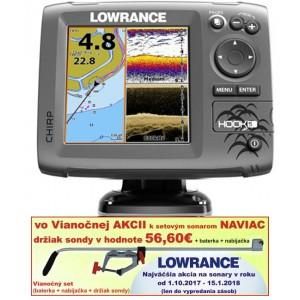 Sonar LOWRANCE Hook-5 Chirp/DSI sonar/GPS