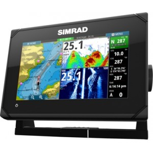 Dotykový sonar SIMRAD GO7 Chirp/ DSI (60°/120°a 30/55°)
