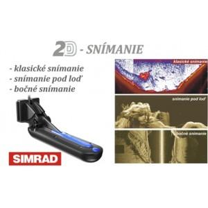 Sonda SIMRAD TotalScan Chirp/ DSI/ priestorové snímanie