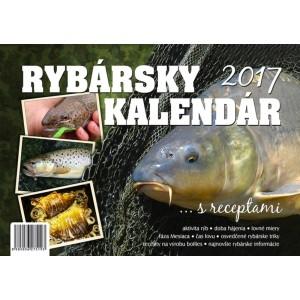 Rybársky kalendár 2017 + darček