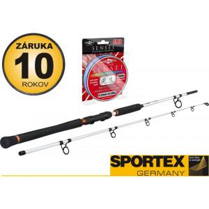 SET = prúty SPORTEX Turbo Cat Spin + šnúra MIKADO Sensei Mark Countdown