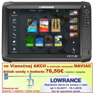 Dotykový sonar LOWRANCE HDS - 12 Carbon