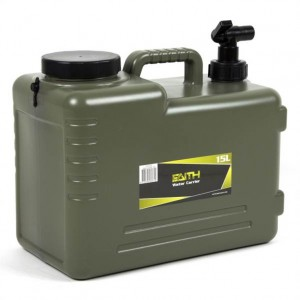 Kanister na vodu s uzatváracím ventilom