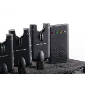 Set 3 signalizátorov SPORTS FlatHead Xs s príposluchom