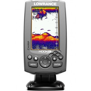 Sonar LOWRANCE Hook-4x so sondou na more