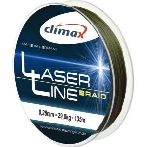 Šnúra CLIMAX Laser Braid Line Olive SB