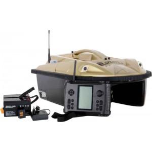 SET - zavážacia loďka PRISMA 5 + sonar + GPS + náhradné akumulátory