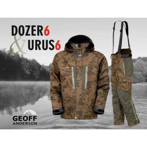 SET = nohavice GEOFF ANDERSON Urus 6 + bunda Dozer 6 maskáč