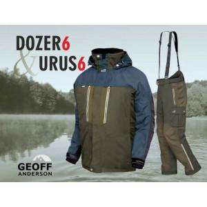 SET = nohavice GEOFF ANDERSON Urus 6 + bunda Dozer 6 zelené
