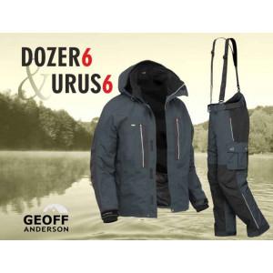 SET = nohavice GEOFF ANDERSON Urus 6 + bunda Dozer 6 čierne