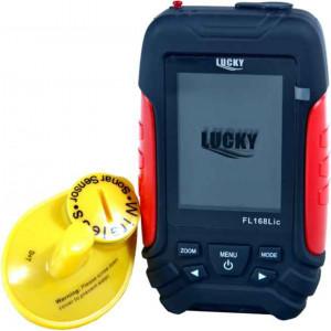 Bezdrôtový farebný nahadzovací sonar LUCKY FL168LiC-W