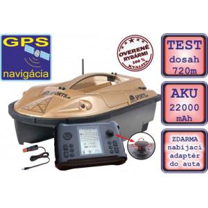 SET = Zavážacia loďka PRISMA 6 + sonar + GPS + 2ks náhradných akumulátorov