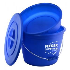 Vedro CarpZoom Bait Bucket & Bowl s miskou a vrchnákom